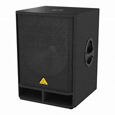 active pa subwoofer behringer eurolive vq1800d active 18 inch pa subwoofer b stock at gear4music
