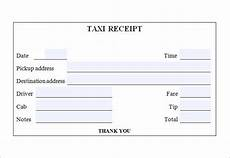 free taxi receipt templates in docs sheets excel ms word numbers pages