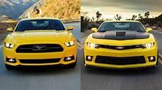Mustang Vs Camaro - comparativa chevrolet camaro vs ford mustang