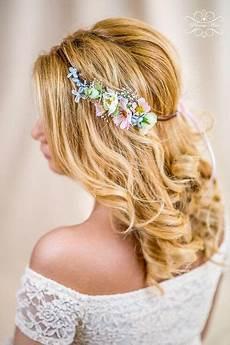Blumen Im Haar Hochzeit - haarschmuck kopfputz blumenkranz hochzeit haarband