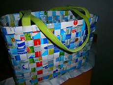 Mydimana Upcycling Tetrapaks Geflochtene Tasche