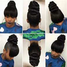 love this bun by hairbylatise black hair information