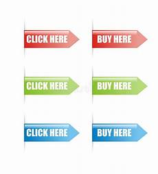 click and buy here sign vector stock vector illustration