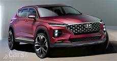 2018 hyundai santa fe suv revealed in new images from