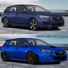 subaru wrx 2019 concept i made the 2019 impreza hatch into an wrx sti concept