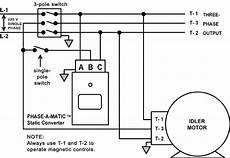 phase converter wiring diagram static converters on phase a matic inc