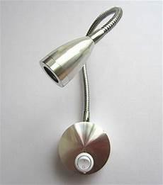new 3w silver flexible hose led modern wall l flexible arm light l bedside reading light