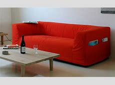 Cool Sofa Designs: Camp Sofa with Pouches by Cappellini