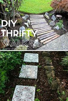 Garden Cheap by 7 Thrifty Designs For A Diy Walkway Lawn Garden Bob