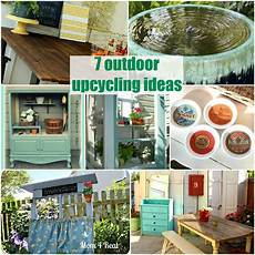 Upcycled Home Decor Ideas by 7 Outdoor Upcycling Ideas The Space Between