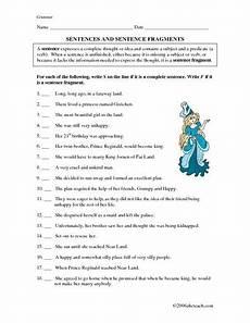 writing sentences worksheets for 5th grade 22097 sentences and sentence fragments 5th 7th grade worksheet educacion y ni 241 os