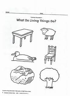 science worksheet living things 12282 living vs nonliving activity paper 2 living and nonliving kindergarten worksheets