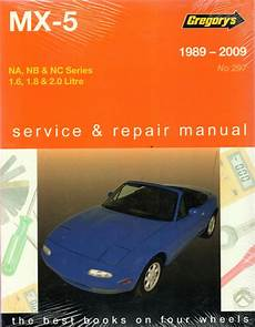 service and repair manuals 1993 mazda mx 5 electronic toll collection mazda mx 5 1989 2009 gregorys workshop service repair manual sagin workshop car manuals repair