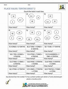 decimal place value worksheets 4th grade 5503 decimal place value worksheets 4th grade