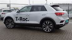 volkswagen new t roc 2018 sport white silver metallic 19