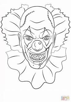 Ausmalbilder Erwachsene Horror Image Result For Scary Clown Coloring Pages