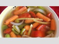 moroccan style spicy pickled vegetables_image