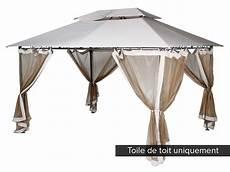 Toile De Toit Pour La Tonnelle Fogo Hesp 233 Ride Jardideco