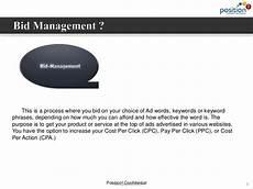 pay per click bid management bid management ppt