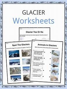 earth science glaciers worksheets 13303 glacier facts worksheets where are they found advice for