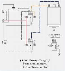 4 solenoid winch wiring diagram