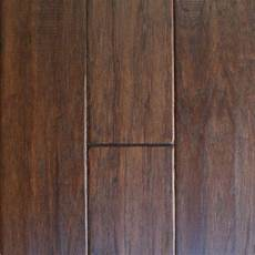 floors at home depot millstead handscraped hickory cocoa 1 2 in thick x 5 in wide x random length engineered