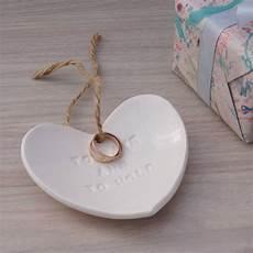 ceramic wedding ring dish by kate charlton ceramics