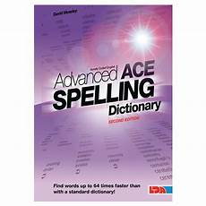 ace spelling dictionary worksheets 22366 advanced ace spelling pocket dictionary admt11410 lda resources