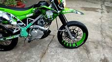 Modifikasi Klx 150 Bf Supermoto by 93 Foto Modifikasi Motor Klx Teamodifikasi