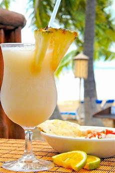 easy pina colada cocktail recipe with fresh pineapples