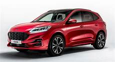 ford kuga suv new ford kuga reinvents itself as a stylish suv with three electrified options carscoops
