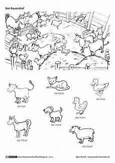 Malvorlagen Bauernhof Nrw Natur Bauernhof Haustiere Nutztiere Tiere Pertoft