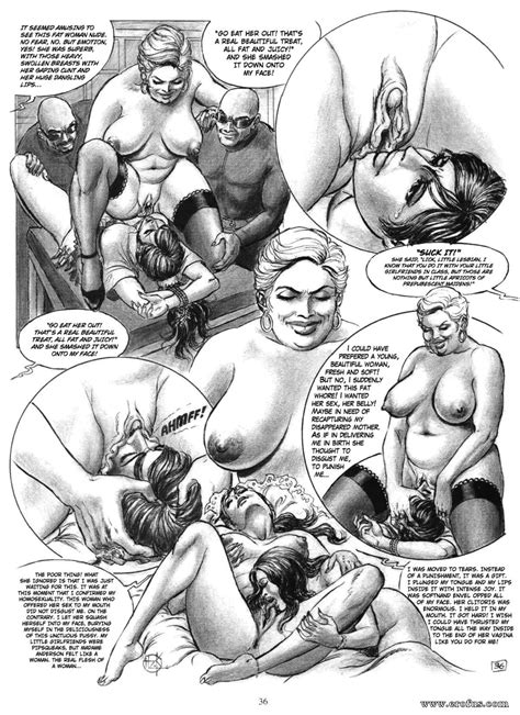 Hilda Erotic Comic