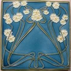 Jugendstil Malvorlagen Vintage Nouveau Tile Circa 1905 Fliesen Im Jugendstil