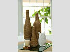 creative diy wine bottle decor
