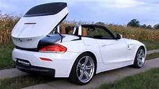 bmw z4 roadster sdrive 2 3i e89 offen und stark als jahreswagen youtube