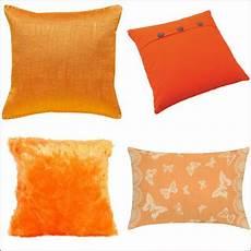 coussin orange et marron coussin orange choix et prix avec le guide shopping kibodio