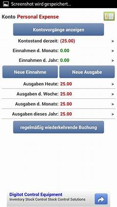 expense manager android app chip