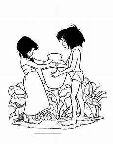 disney jungle book coloring pages get coloring pages