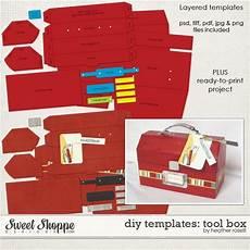 tool box card template diy printable templates tool box by roselli diy