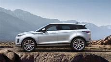 the range rover evoque will be getting a in