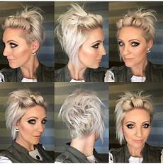 2020 popular short hairstyles for growing out a pixie cut