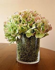 deko mit getrockneten hortensien glasvasen dekorieren 21 ideen f 252 r mehr fr 252 hling zu hause