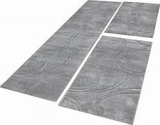 Bettumrandung Teppich Einfarbig Mit Handgearbeitetem