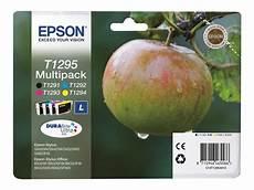 Epson T1295 Pomme Pack De 4 Cyan Magenta