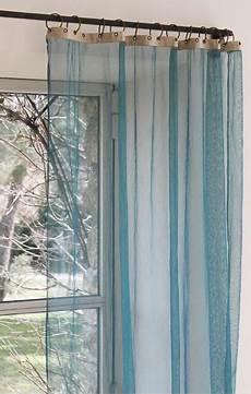 Rideau Vert Canard Voilage Bleu Canard Pour Chambre Vert Olive Et Beige En