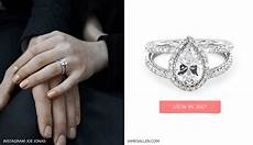 celebrity engagement rings written in the stars the