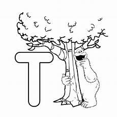 Kostenlose Malvorlagen Abc Buchstabe Letter T In 2020 Abc Malvorlagen