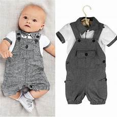 2pcs newborn baby boys clothes shirt t shirt overalls