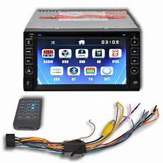 Car Stereo 2 Din Dvd Player 6 2 Inch Hd Touchscreen